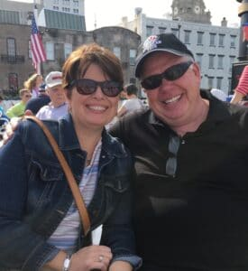 Dan and Shelley Lambert