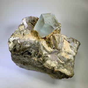 Aquamarine, Morganite, and Mucovite, USA